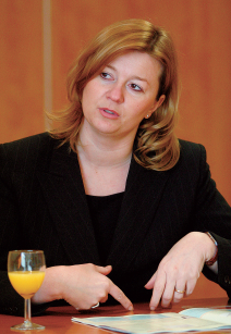 Cristina Zanchi, directeur customer management bij KLM